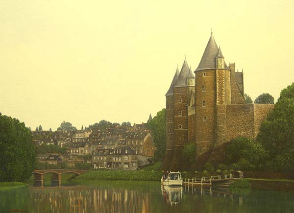 「ブルターニュの古城・ジョスラン」 8P