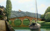 「石橋の架かる村 ヴェルカステル」 10M
