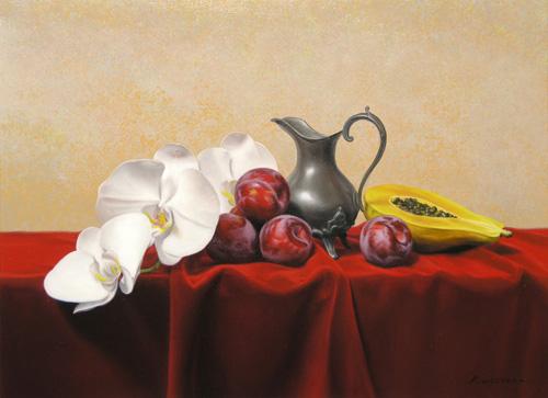 『蘭と果実』 8P