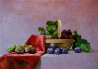 「籠と果実」 20M