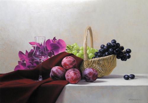『籠と果実』  M15