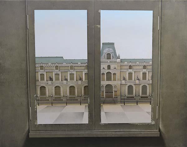 「ルーブルの窓」 50F