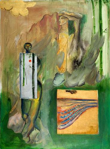 『大岡信の詩-四季の木霊』 仏40号(100×73cm)