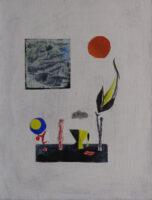 「大岡信の詩-静物」 仏5号(35×27cm)