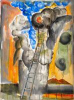 「十字架の聖ヨハネの詩-漆黒の夜III」 仏20号(73×54cm)
