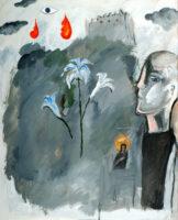 「十字架の聖ヨハネの詩-漆黒の夜V」 仏20号(73×61cm)