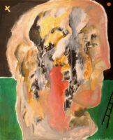 「十字架の聖ヨハネの詩-漆黒の夜VIII」 仏20号(73×60cm)