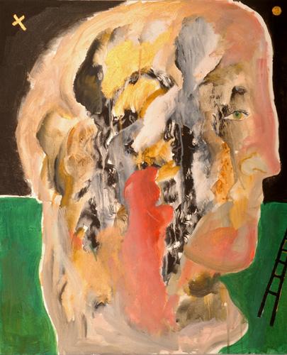 『十字架の聖ヨハネの詩-漆黒の夜VIII』  仏20号(73×60cm)