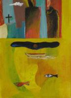 「十字架の聖ヨハネの詩-漆黒の夜」 仏4号(33×24cm)