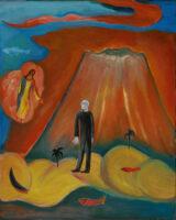 「大岡信の詩-人は山河を背負う」 F40