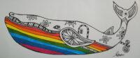 「虹を食べたクジラ」