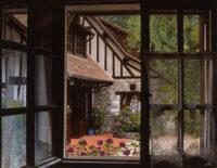 「カフェの窓から」 50F