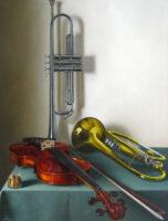 「バイオリン、トランペット、コルネット」 15P