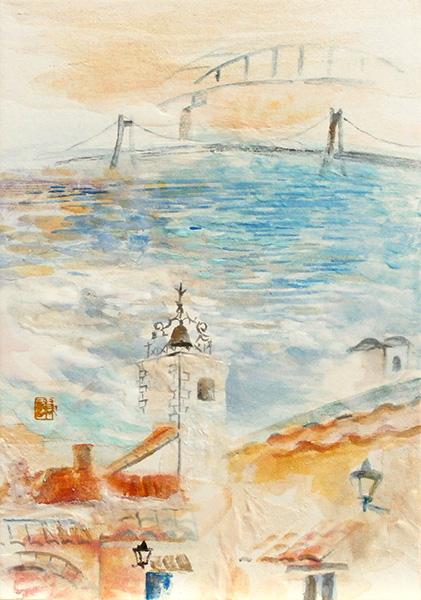 「海と鐘楼」 SM