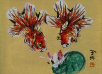 「金魚」  4F