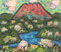 「箱根の富士」  F10