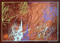 「収穫祭」 シルクスクリーン 55×79cm