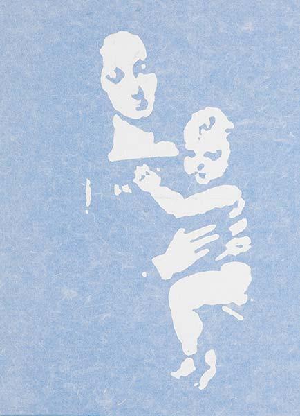 「Blue Madonna」 4号