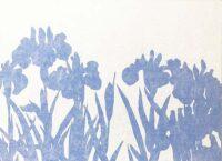 pBlue flower」 4号