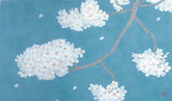 「夜桜」  6M