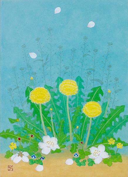 「桜舞い散る春」  4F
