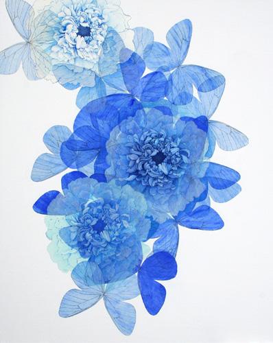 『Innocent blue Ⅱ』  100F (1620×1303mm)