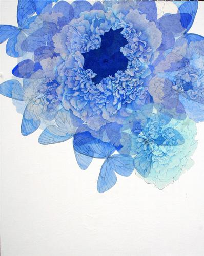 『Innocent blue Ⅲ』  100F (1620×1303mm)