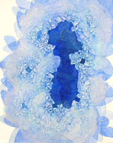 『Innocent blue Ⅳ』  100F (1620×1303mm)