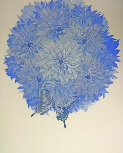 『Innocent blue Ⅴ」  100F (1620×1303mm)