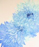「Innocent blue Ⅷ」 20F(727×606mm)