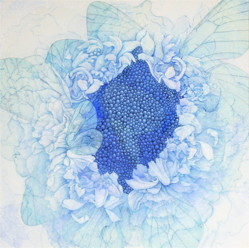 『Innocent blue Ⅸ』  10S(530×530mm)