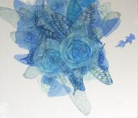 「Innocent blue ⅩⅣ」 10F(455×530mm)