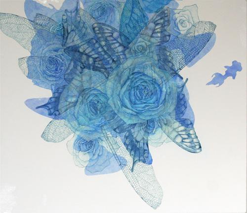 「Innocent blue ⅩⅣ』  10F(455×530mm)