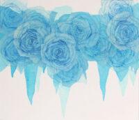 「Innocent blue ⅩⅤ」 10F(455×530mm)