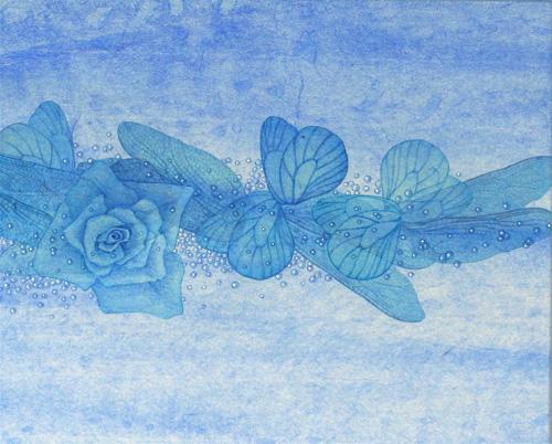 「Innocent blue ⅩⅦ」  3F(273×220mm)