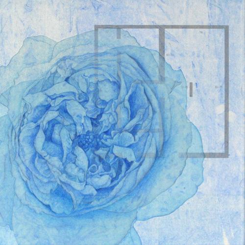 「Innocent blue ⅩⅧ」  3S(273×273mm)