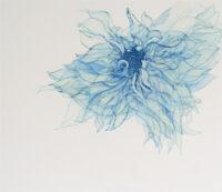 「Innocent blue ⅩⅨ」 10F(455×530mm)