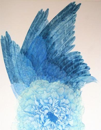 「Innocent blue -WING-Ⅰ」  30F(910×728mm)