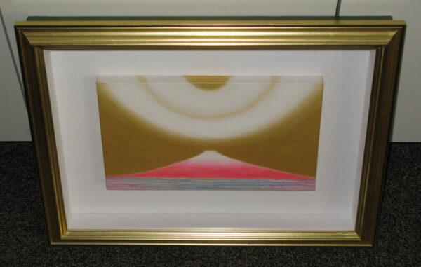 堀本惠美子 「CURRENT W-1663 富士山から宇宙へ(赤富士)」 M3